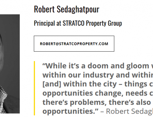 Tune In To The Podcast Episode 042: Robert Sedaghatpour