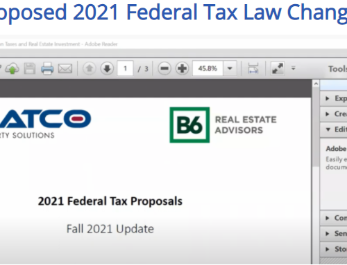 Proposed 2021 Federal Tax Law Changes